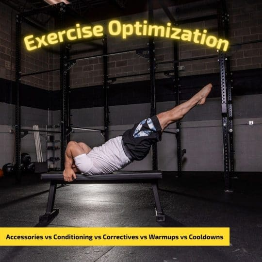 Exercise Optimization in Personal Training