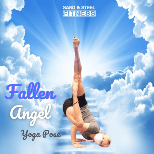 Fallen Angel Yoga Pose