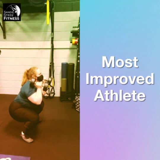 Rebekah Most Improved Athlete