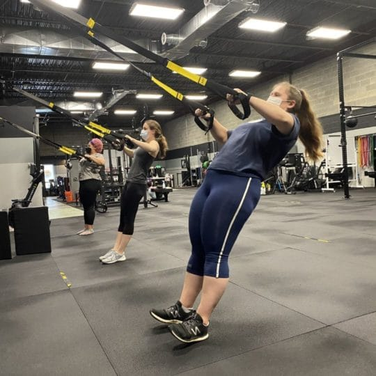 TRX Row with Cindy Moore