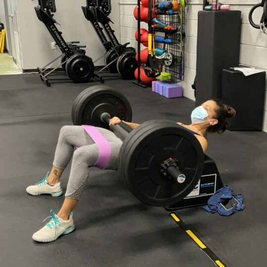 Hip Thrust with Loop Band