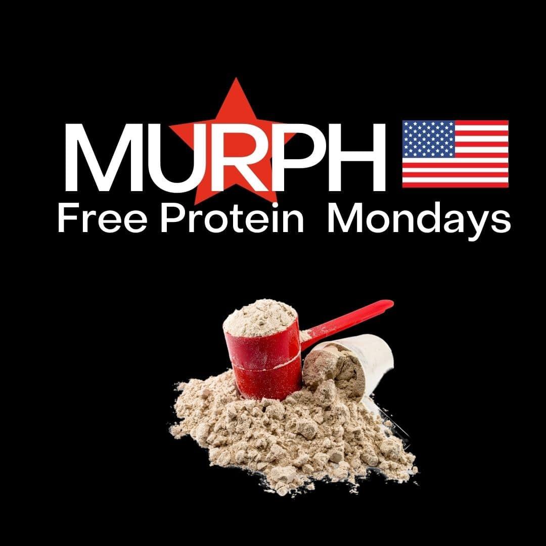 Murph Free Protein Mondays Square