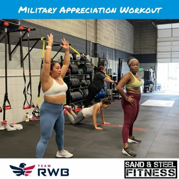 Military Appreciation Workout