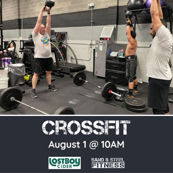 CrossFit at Lost Boy Cider