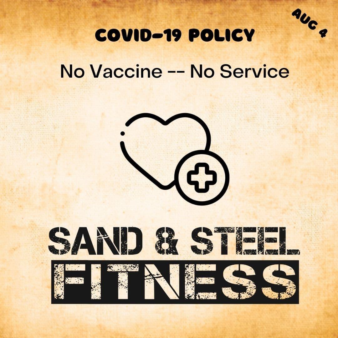 No Vaccine -- No Service