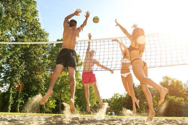 Volleyball BBQ