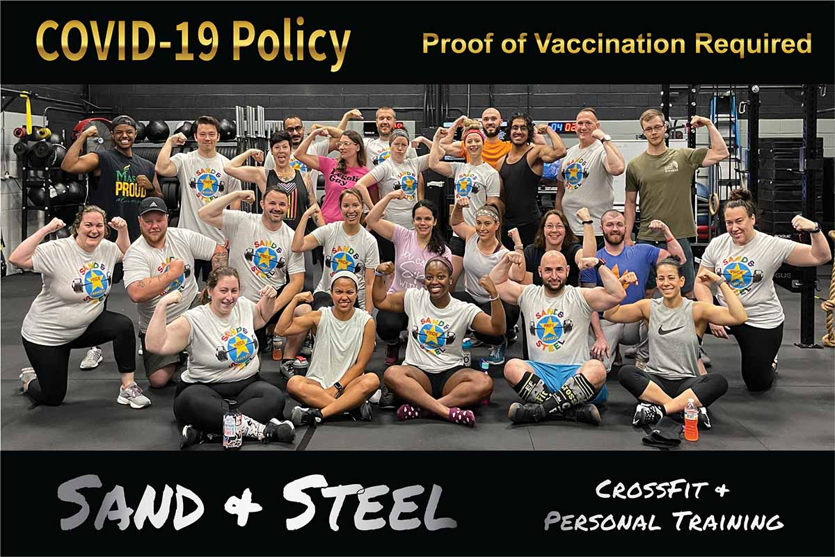 COVID-19 Vaccination. CrossFit Personal Training Alexandria VA